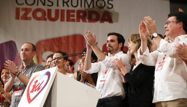 El nuevo Consejo Político federal de Izquierda Unida ha elegido como nuevo coordinador a Alberto Garzón,