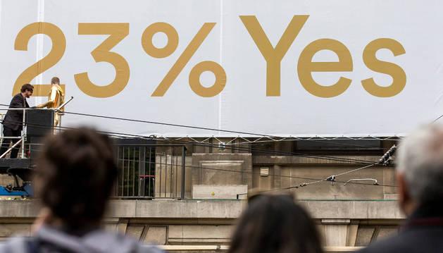 El 23% de los suizos ha votado sí al referéndum de la renta básica.