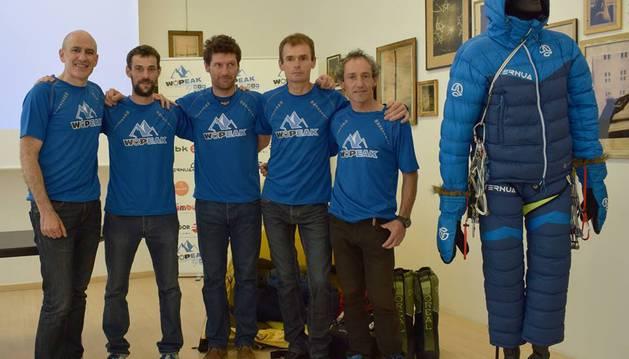 Iñurrategi, Vallejo y Zabalza intentarán varias rutas en los Gasherbrum.