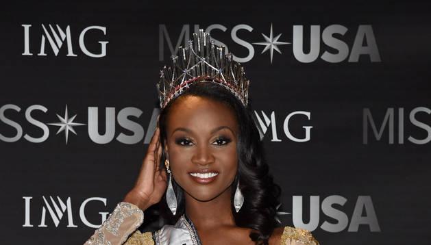 Una joven de la capital de EE UU se hace con la corona de Miss