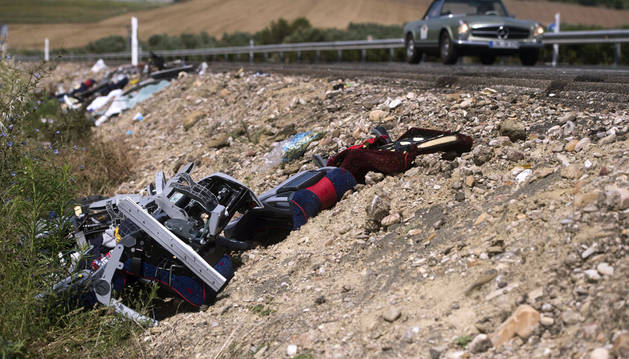 Ocho muertos y 51 heridos en siete accidentes de tráfico en el fin de semana