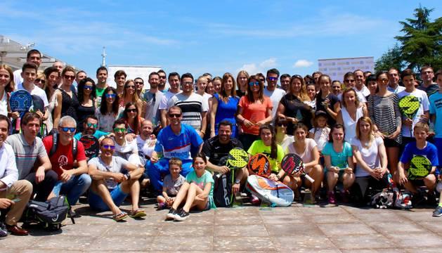 Participantes en la cuarta prueba del Circuito Diario de Navarra.