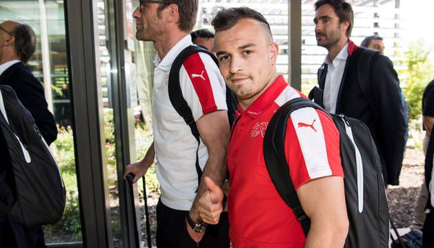 Xherdan Shaqiri, estrella de Suiza.