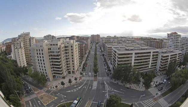 Vista aérea del barrio de San Juan
