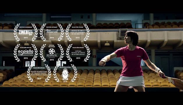 Fotograma del documental 'Las pelotaris'.