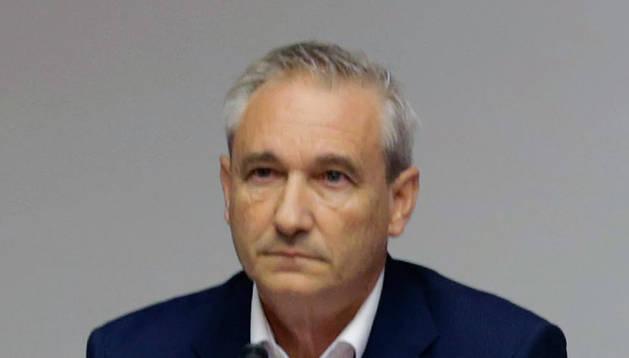 El consejero de Hacienda, Mikel Aramburu.