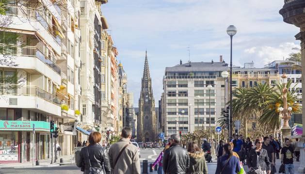 Las calles con las viviendas más caras se concentran en San Sebastián y Barcelona