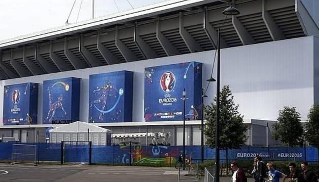 El estadio Bollaert-Delelis en Lens.