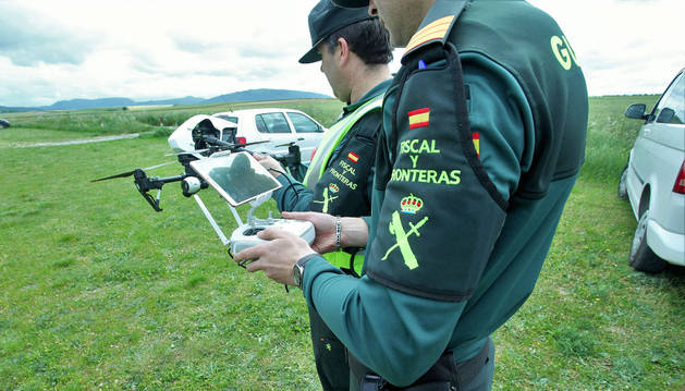 Guardia Civil controlará en verano los drones con usos recreativos
