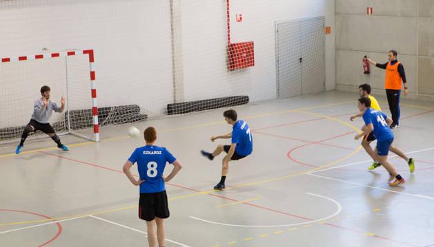 Espacios deportivos del Colegio de Barañáin.
