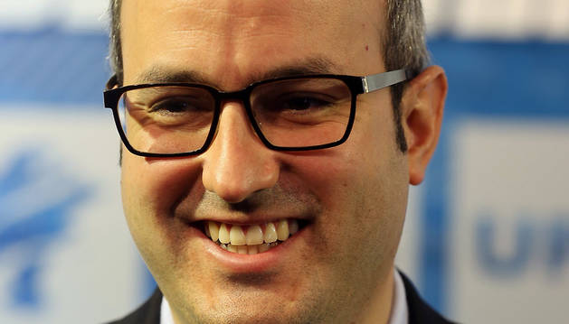 El vicesecretario de Comunicación de UPN, Fermín Alonso.