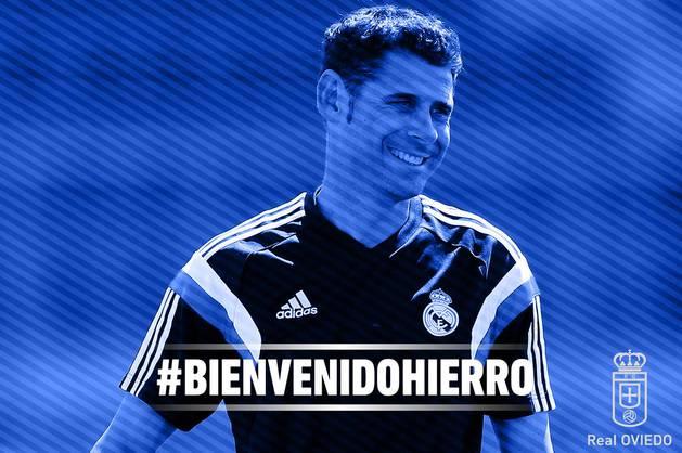 Fernando Hierro, nuevo entrenador del Oviedo.
