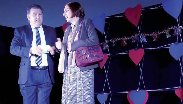 Escena de 'El amor y otras cochinadas', del grupo La Nave.