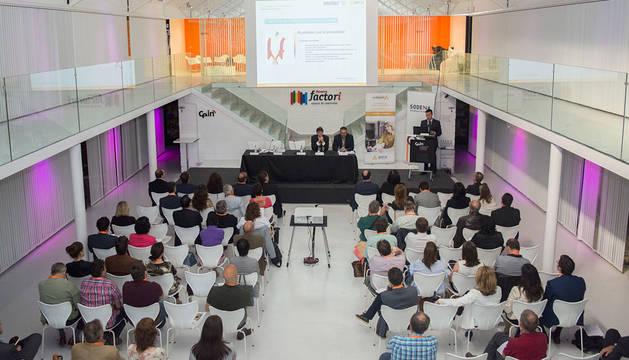 Asistentes al I Foro de Compradores organizado por Sodena en CEIN