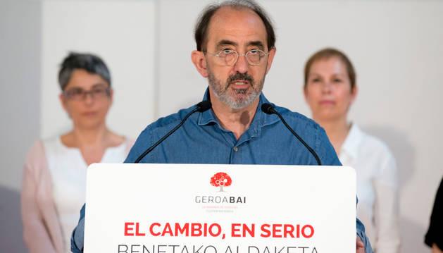 Daniel Innerarity, candidato de Geroa Bai al Congreso de los Diputados.