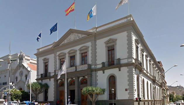 Ayuntamiento de Santa Cruz de Tenerife, donde han ocurrido los hechos.