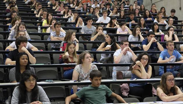 Arranca la Selectividad en Navarra, con un total de 2.909 estudiantes matriculados