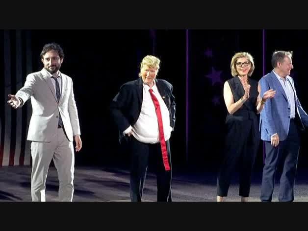 Meryl Streep se mete en la piel de Donald Trump