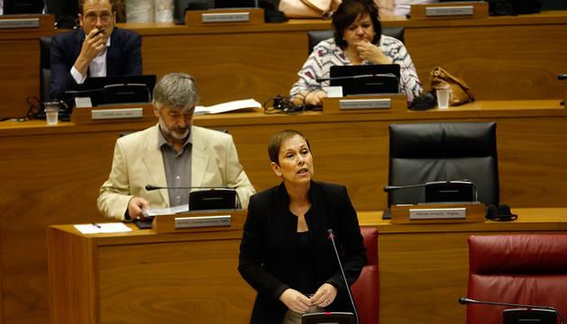 Barkos dice que el bloqueo no es un recorte y asegura que se prioriza la política social