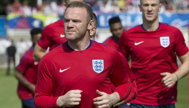 Rooney, la estrella de Inglaterra.
