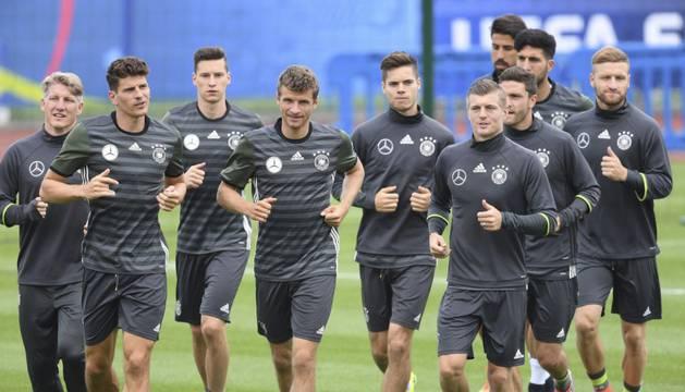La selección alemana, de nuevo una de las favoritas.