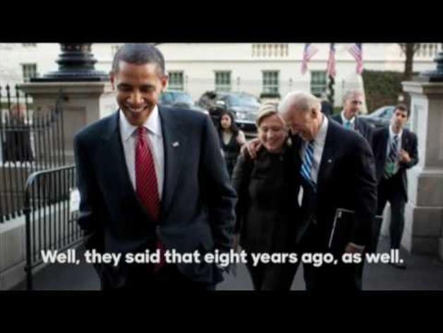 Obama muestra su apoyo a Clinton en la carrera presidencial