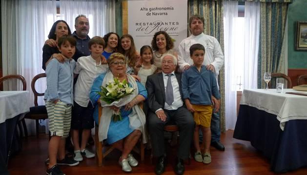 75 años de cocina navarra en Aoiz