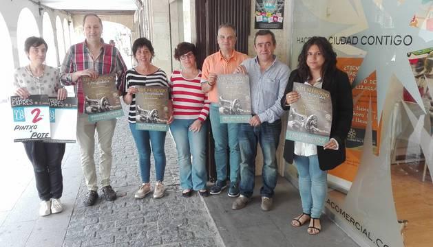 Los comerciantes de Estella involucran a las tiendas y a la hostelería para su feria de antigüedades