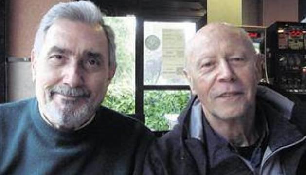 Pablo Herreros (i) y José Luis Armenteros (d).