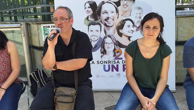 Unidos Podemos dice que solo el empleo de calidad garantizará las pensiones