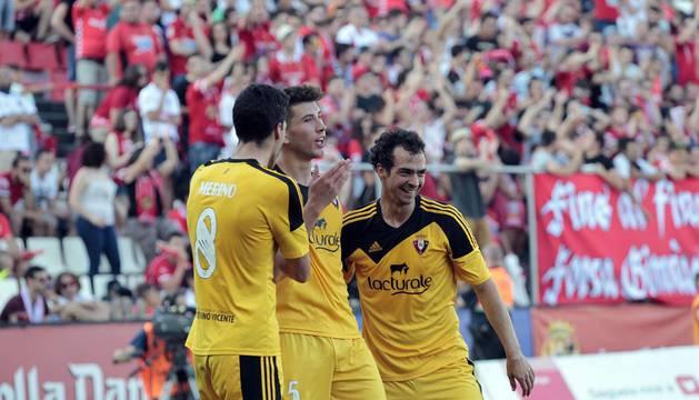 Imágenes de la victoria de Osasuna en Tarragona que le da la clasificación.