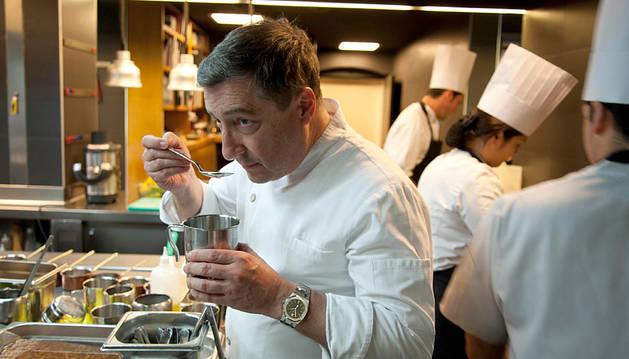 El cocinero Joan Roca, del Celler de Can Roca.