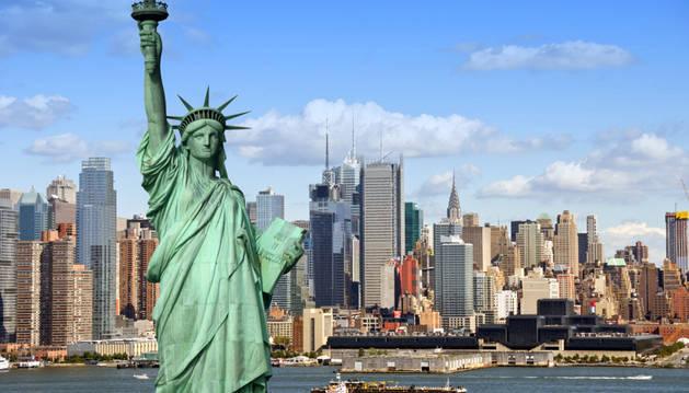 Imagen de la estatua de la libertad.