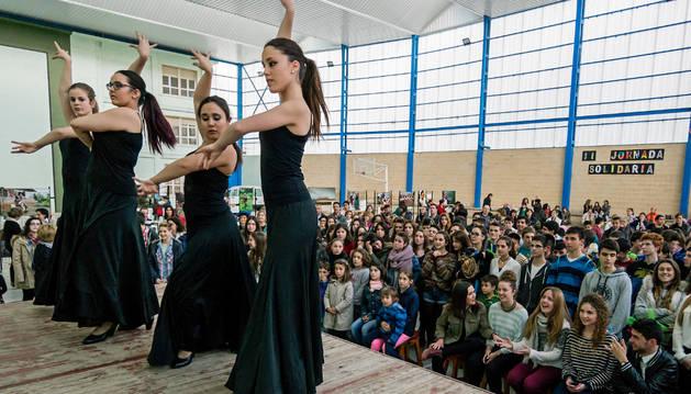 Imagen de un festival de flamenco en Estella.