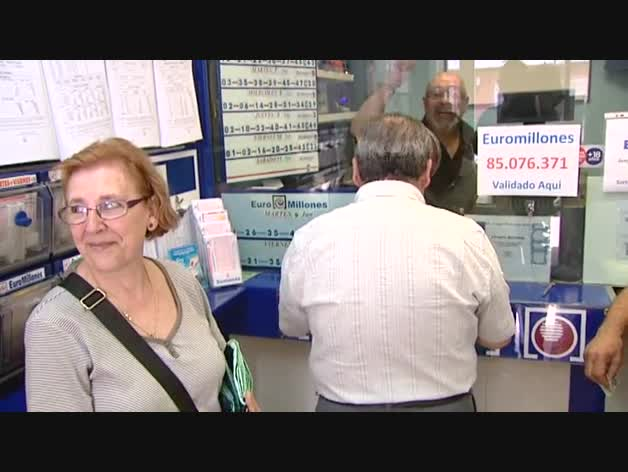 El dueño de un boleto de 'Euromillones' validado en Coslada percibirá más de 85 millones de euros