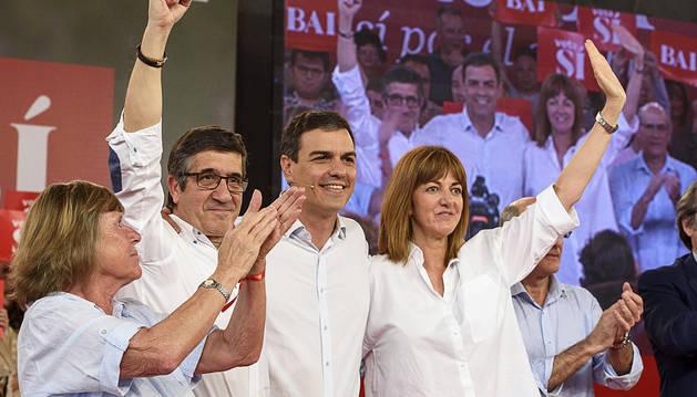 Sánchez se atribuye el cambio frente