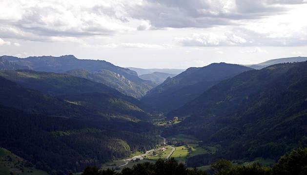 El valle del Roncal, en el pirineo navarro.