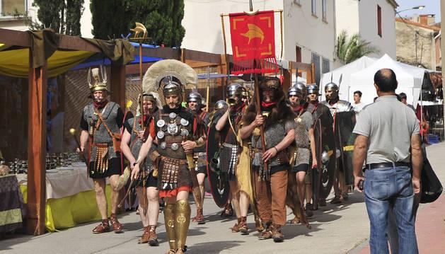 Los romanos conquistan Santacara