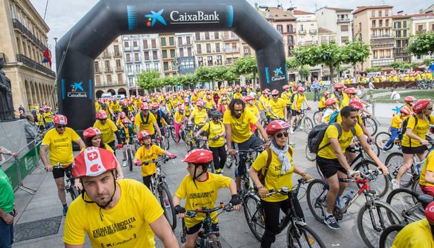 Día de la Bicicleta en Pamplona.
