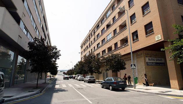 Este lunes se corta la calle Extremadura que une Pamplona y Cordovilla