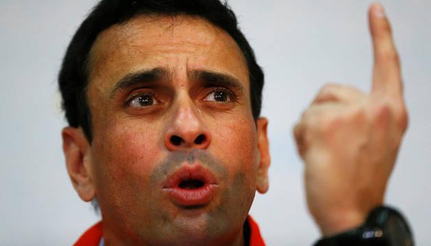 Capriles responde a Maduro que el revocatorio