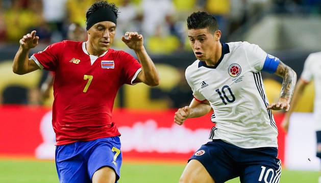 Costa Rica logró un triunfo del honor y quita el liderato a Colombia