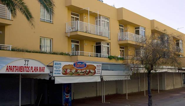 Apartamentos en la zona de Magaluf (Mallorca).