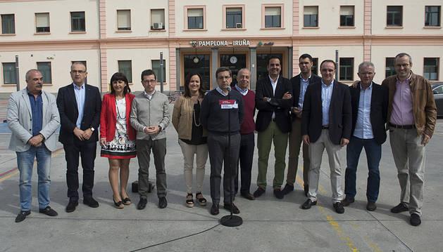 Carlos Salvador afirma que hablar del TAV es hablar de progreso