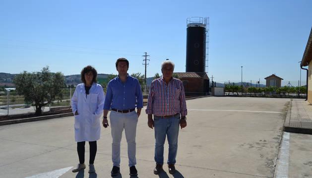 Una nueva depuradora  abarata el consumo de la bodega de Andosilla