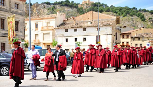 Falces da la bienvenida a nuevos embajadores del vino navarro