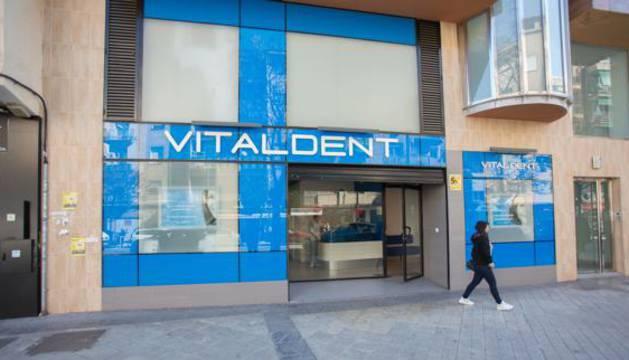 Una clínica de Vitaldent.