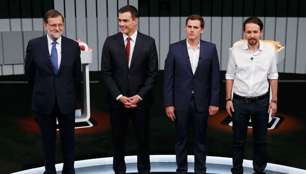 El debate ' a cuatro', un fuego cruzado sin claros vencedores