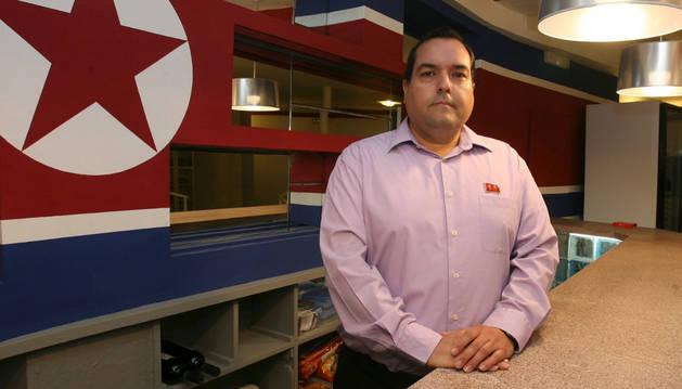 Alejandro Cao de Benós, que ejerce como embajador no oficial de Corea del Norte en España.
