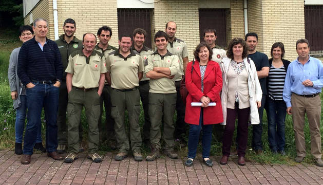 Elizalde visita Ultzama-Arakil, una de las zonas más forestales de Navarra